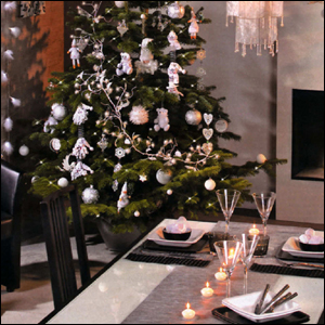 Deco de table de noel 2018