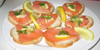 D corations bricolages cadeaux astuces pour no l et les for Canape saumon